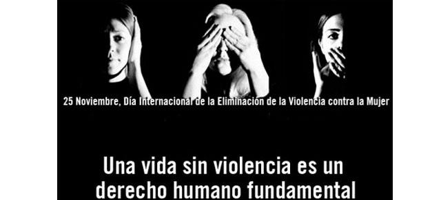 Dia internacional de la eliminación de la violencia a la mujer
