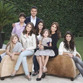 Justin Bieber en México convive con la familiaPeña