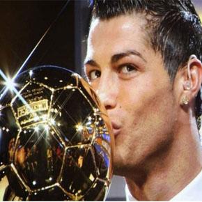 Cristiano Ronaldo gana Balón de Oro2014