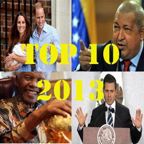 Recuento: Las 10 noticias del2013