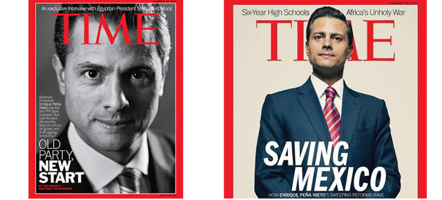 EPN Saving Mexico, revista TIME