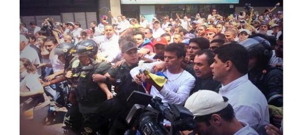 Leopoldo Lopez Entrega con Venezuela