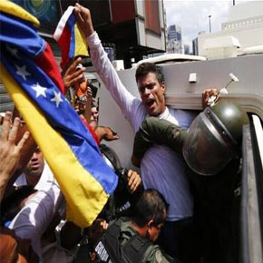 Venezuela: Se entrega LeopoldoLópez