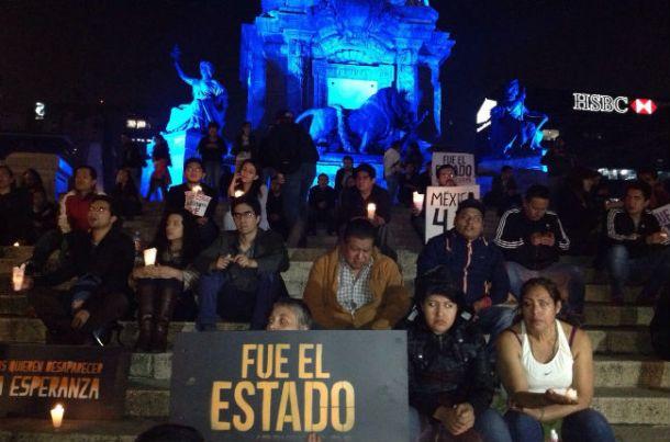Ayotzinapa en el angel