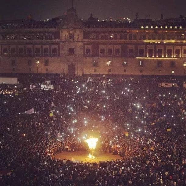 AyotzinapaZocalo