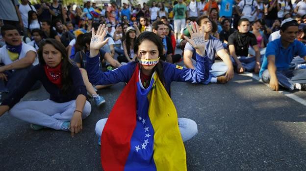 PROTESTAINVISIBLEVENEZUELA