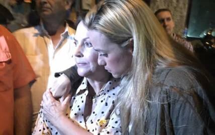Lilian Tintori y Mitzy Capriles
