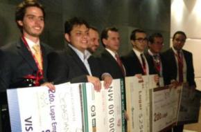 Premian a los 5 emprendedores universitarios más destacados deMéxico