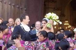 Se casan Anahí y Manuel Velasco, inicia la carrera al2018
