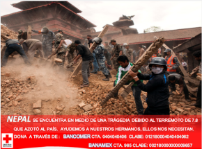 ¿Cómo ayudo a Nepal desdeMéxico?