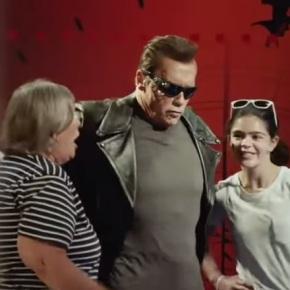 ¿Vista la broma de Schwarzenegger en el museo decera?