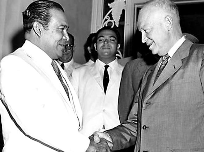 Eisenhower y Batista