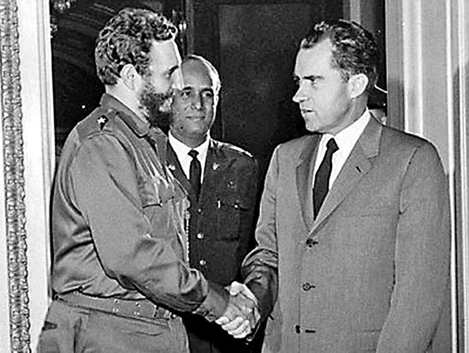 Nixon y Castro