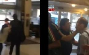 #Video El Piojo y su hija agreden a comentaristadeportivo