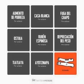 Peña Nieto aclara el#calcetagate
