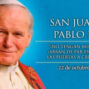 22 Octubre: Día de San Juan PabloII