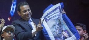 Guatemala tiene nuevo Presidente: JimmyMorales