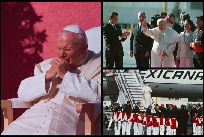 Juan Pablo II EN MEXICO 2