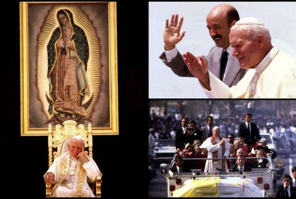 Juan Pablo II en Mexico