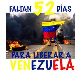 Venezuela: a 52 dias de la oportunidad de cambiar suhistoria