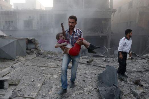 Francia bombardea Siria