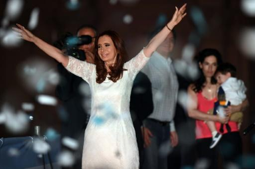 Cristina Kirchner se despide de Argentina