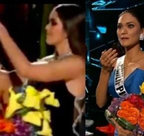 ¿Viste el error en Miss Universo ayer? (coronaron a la equivocada) Aquí en 3videos