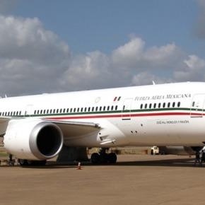 Llegó a México el aviónpresidencial
