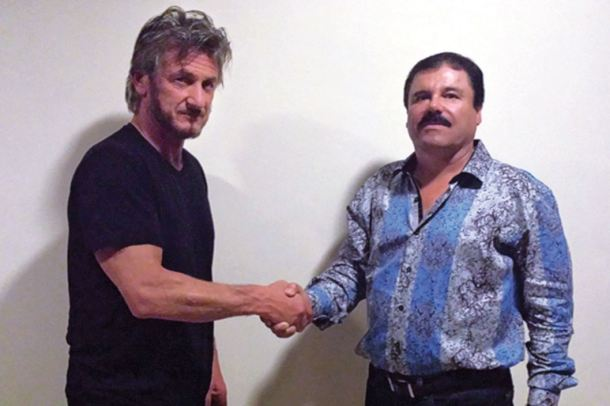 Guzman Loera y Sean Penn