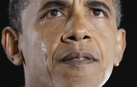 Obama Llora