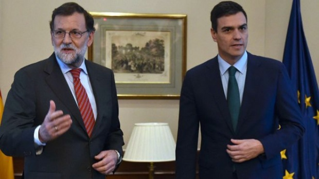 Rajoy y Sanchez