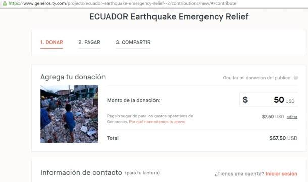 COMO AYUDO A ECUADOR 1