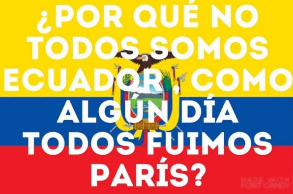ECUADOR COMO AYUDO