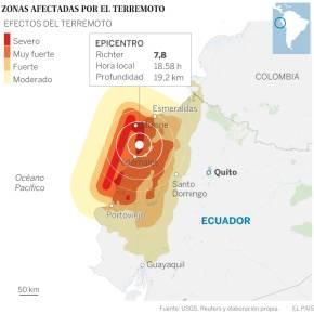 Terremoto en Ecuador; enormetragedia