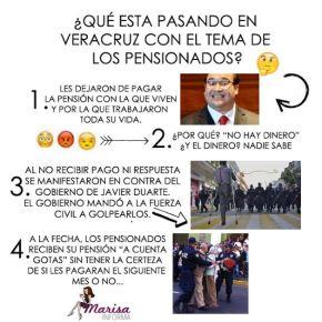 ¿Qué esta pasando con los pensionados enVeracruz?